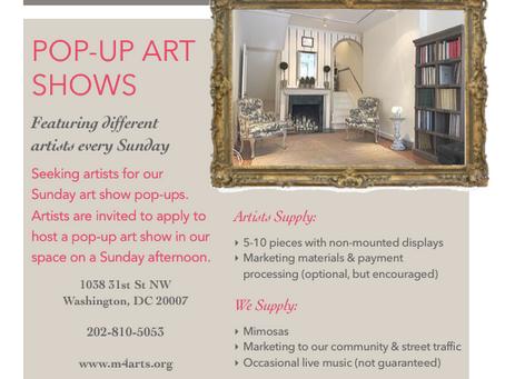 Art Show Pop-Up Artists