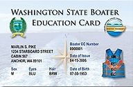 Washington State Boater Education Card