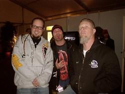 Jonathan Davis & James Hetfield