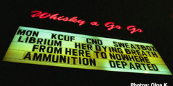KCUF at the Whiskey a Go go.