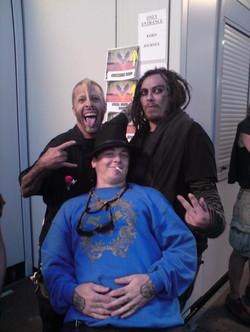 Slipknot, Sid Wilson, Korn, Munky