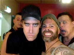 Combichrist and Crazy White Sean.
