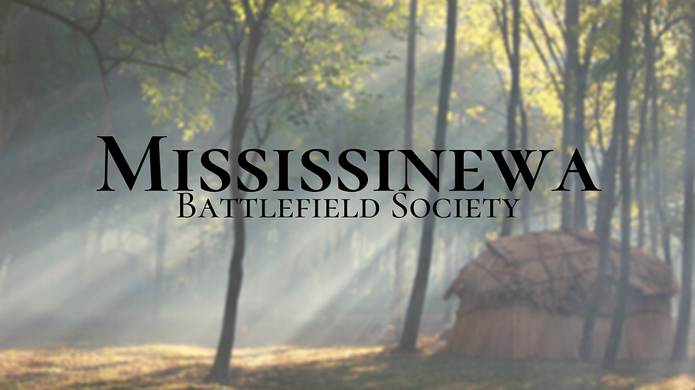 Annual Membership - Mississinewa Battlefield Society - 2021