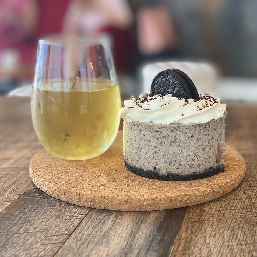 Wine and Cheesecake