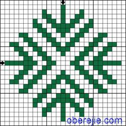 Схема вышивки Авсень