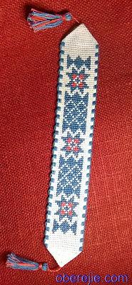 Схема вышивки крестом закладка для книг