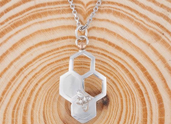 Bee Love Vertical Pendant