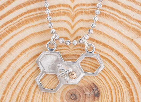 Bee Love Horizontal Pendant