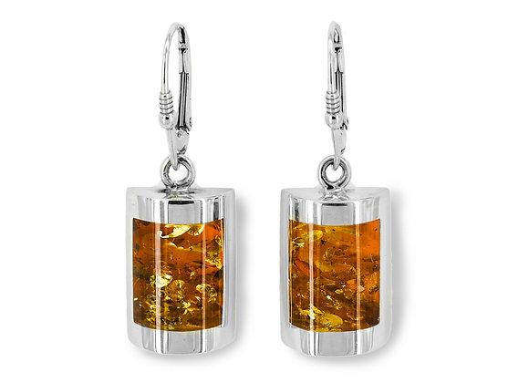 Honey Amber Classic Earrings