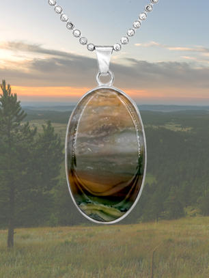 Nature Inspired Landscape Jewelry