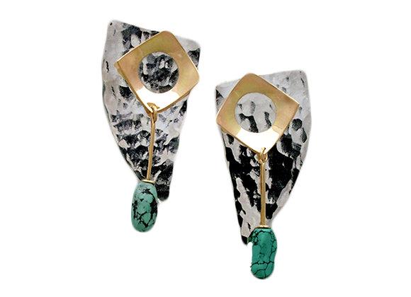 MB Geometric Earrings
