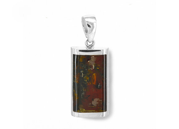 Dark Honey Amber Classic Pendant
