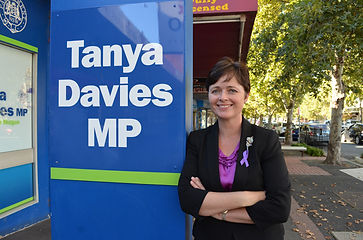 Tanya Davies is our Patron