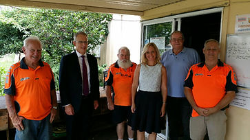 Paul Fletcher and Melissa McIntosh Visit