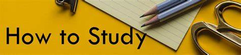 How to Study Effectively