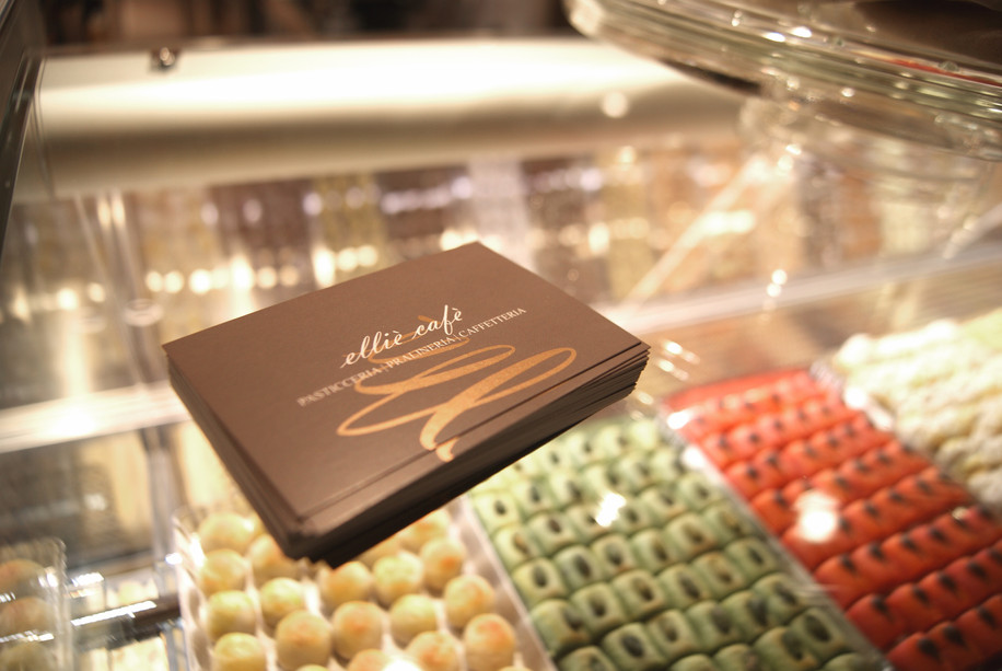 Packaging Elliè Cafè pasticceria caffetteria