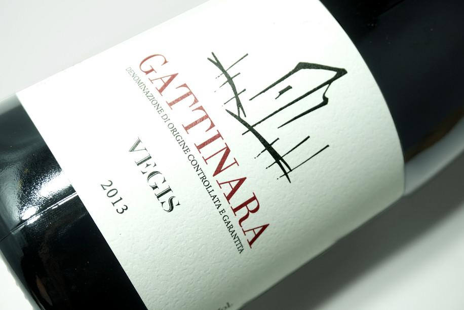 Etichetta vino Gattinara di Vegis Stefano