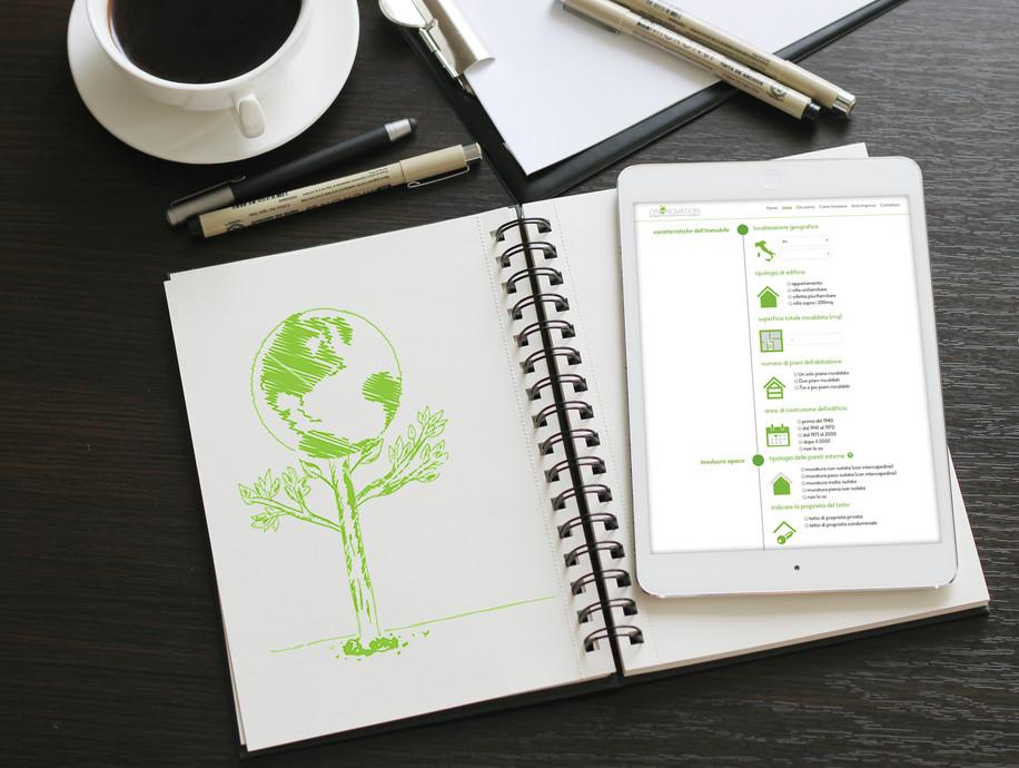 Greenovation Grafica Web
