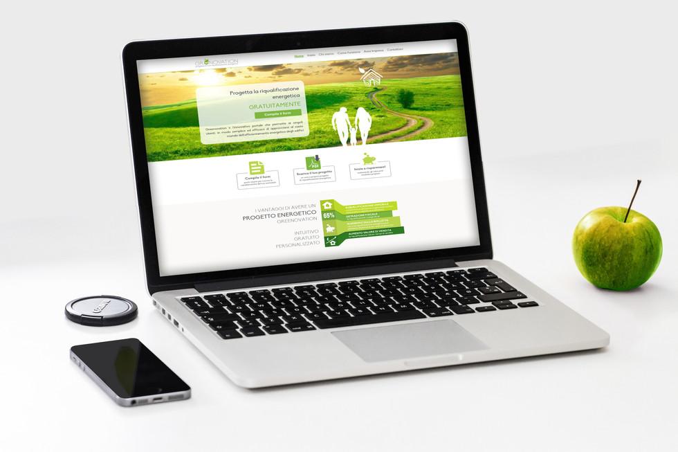 Greenovatione website
