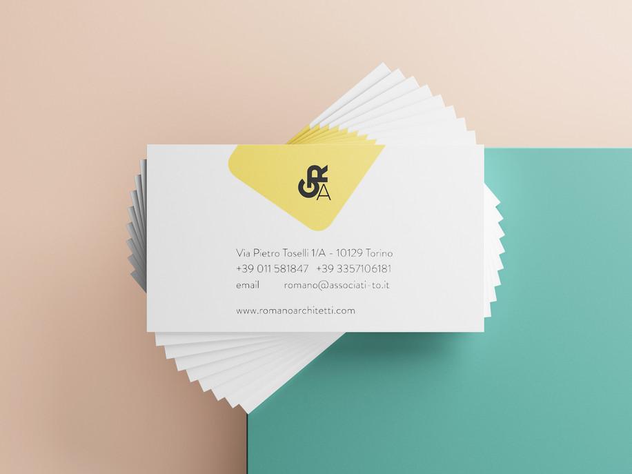Business card Romano   ARtelier Progetti
