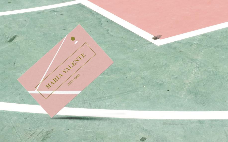 Business card Tennis coach   ARtelier Progetti