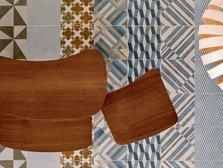 """La ceramica si """"veste"""" di innovazione. Il Textile decorativo."""