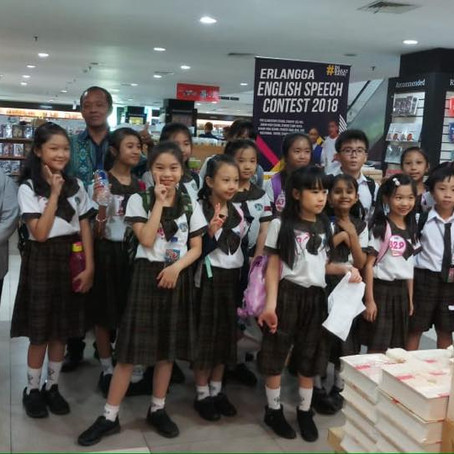 Erlangga English Speech Contest 2018: A winning audition for KGS primary students
