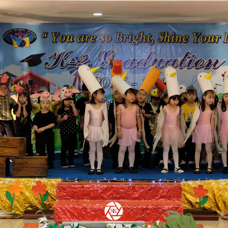 'You are so bright, shine your light' - Preschool Graduation 2017-2018