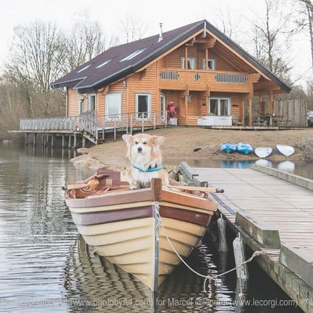 A Cotswolds Log Cabin Break