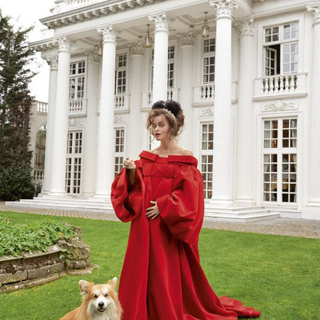 Harper's Bazaar Photoshoot with Helena Bonham Carter