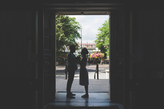 W & A - Islington Town Hall Micro Wedding