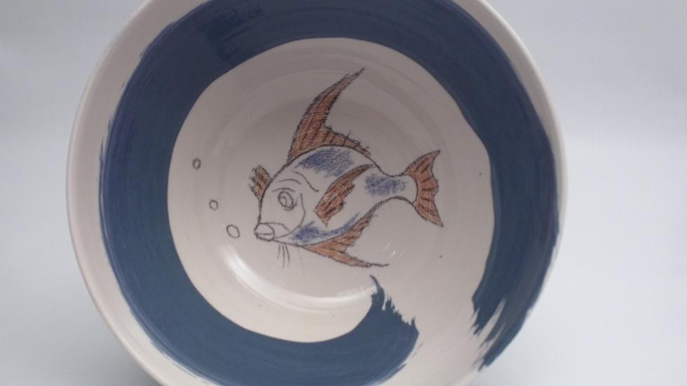 Saladier Vague Bleue #2