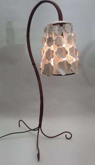 Lampe Fer & Porcelaine #1
