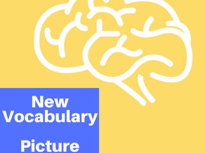 New Vocabulary - Making a Picture Dictionary