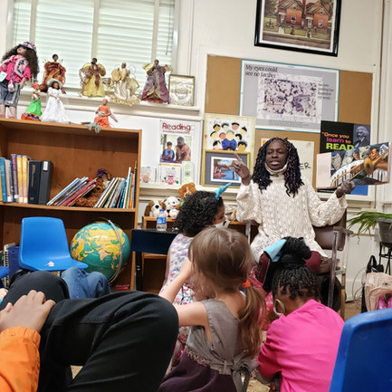 2nd Annual National Poetry and Jazz Month Story Time