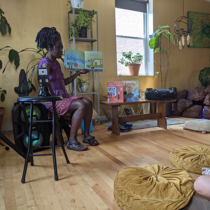 Community Love: A Black Family Month Story Time