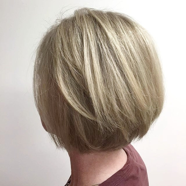 Fresh cut and color on this sweet lady!_