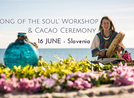 'SUMMER SOLSTICE: Song of the Soul' sacred song Workshop and Cacao journey
