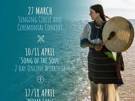 New ONLINE WORKSHOPS and Singing Circle