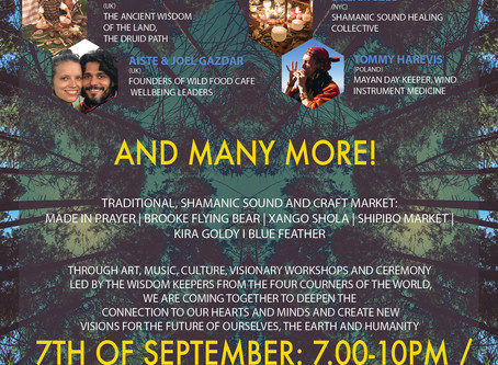 Heart and Mind Festival 7-9th Sep