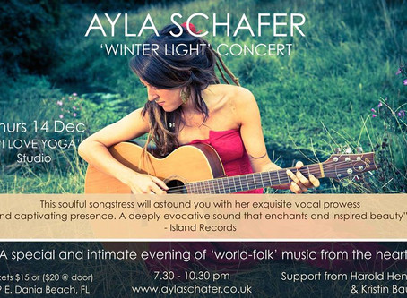 Announcing 'Winter Light' US Tour dates