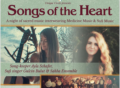 Songs of the Heart: A night of Sacred Music of the Earth