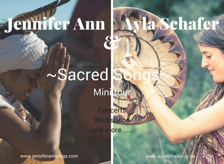 Tour dates - Holland - 'Sacred Songs' Tour with Jennifer Ann
