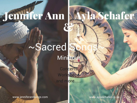 Tour dates - Holland - 'Sacred Songs' Tour with Jennifer Ann