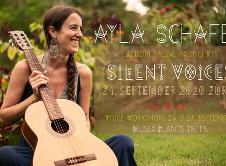 Album launch concert and workshops in Zurich, Switzerland