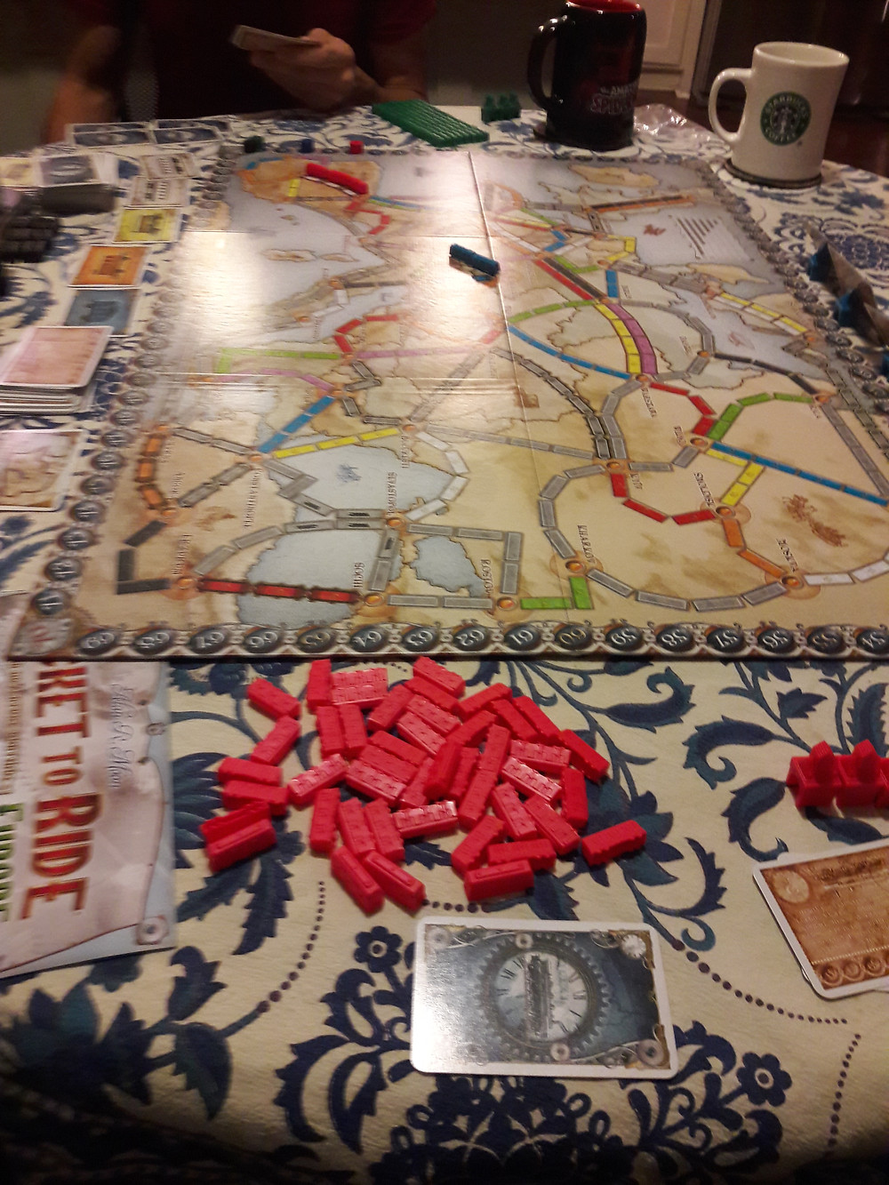 Ticket to Ride, one my favorite games