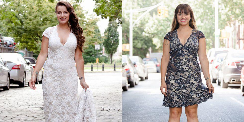 wedding dress makeover