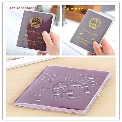 PVC Passport Cover Transparent Passport Cover