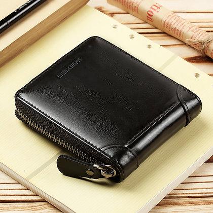 Hot selling vintage leather purse for men