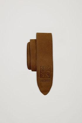 Akosée Leather Tie Belt